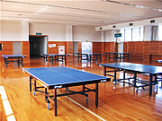 [尾西スポーツセンター施設画像]1F卓球室
