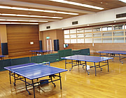 [尾張旭市総合体育館施設画像]卓球室