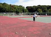 [旭ヶ丘体育施設画像]テニスコート