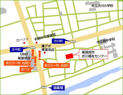 勤労福祉会館(渋川センター) 周辺地図