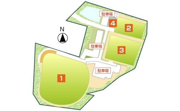 瀬戸信用金庫総合グラウンド内マップ