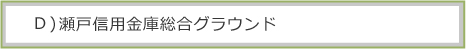 D)瀬戸信用金庫総合グラウンド